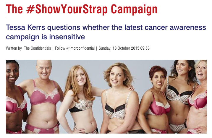 #ShowYourStrap Campaign - Manchester Confidential