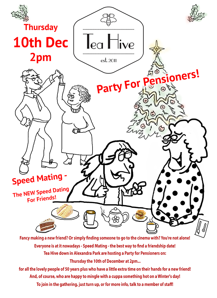 Tea Hive Party For Pensioner's Event