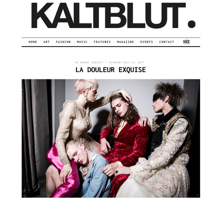 Kaltblut Magazine - La Douleur Exquise Editorial