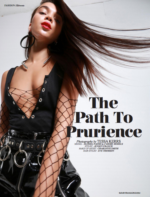 The Path To Prurience Editorial
